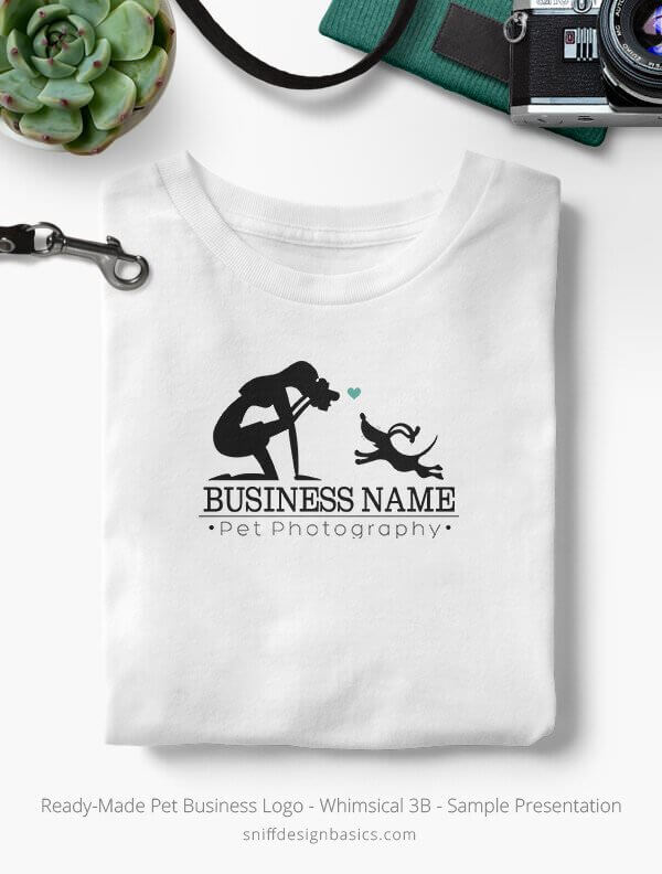 Ready-Made-Pet-Business-Logo-Showcae-T-Shirt-Whimsical-3B