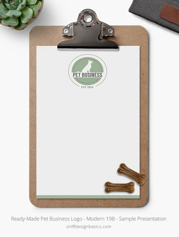 Ready-Made-Pet-Business-Logo-Showcase-Stationery-Letterhead-Modern-19B