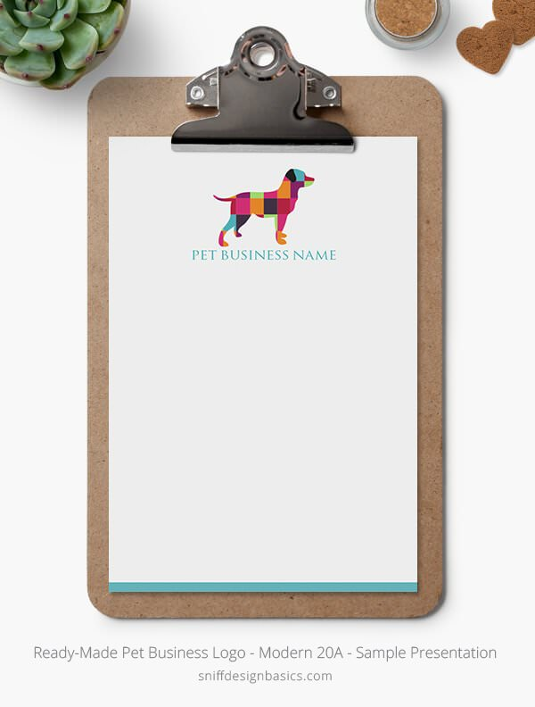 Ready-Made-Pet-Business-Logo-Showcase-Stationery-Letterhead-Modern-20A