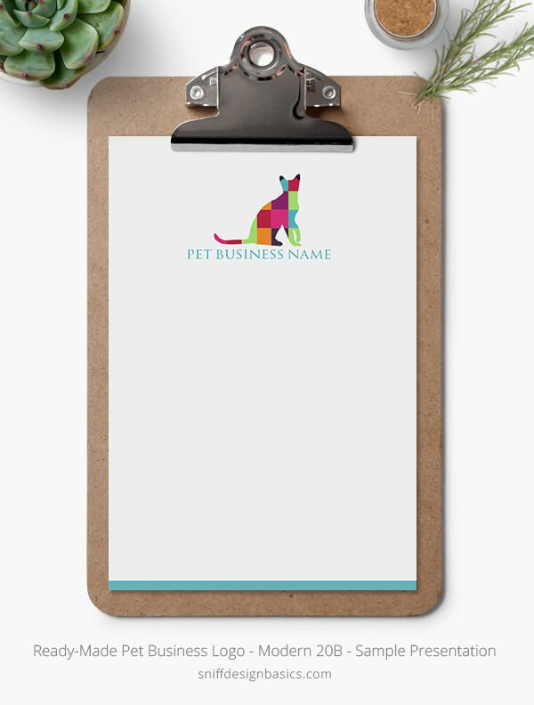 Ready-Made-Pet-Business-Logo-Showcase-Stationery-Letterhead-Modern-20B
