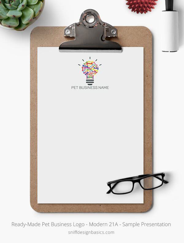 Ready-Made-Pet-Business-Logo-Showcase-Stationery-Letterhead-Modern-21A