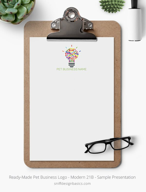 Ready-Made-Pet-Business-Logo-Showcase-Stationery-Letterhead-Modern-21B