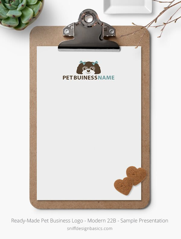 Ready-Made-Pet-Business-Logo-Showcase-Stationery-Letterhead-Modern-22B