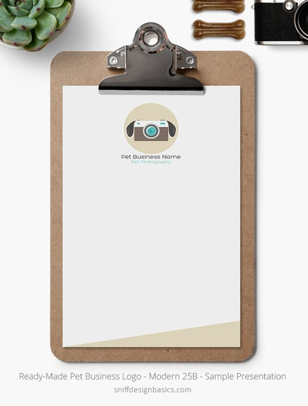 Ready-Made-Pet-Business-Logo-Showcase-Stationery-Letterhead-Modern-25B