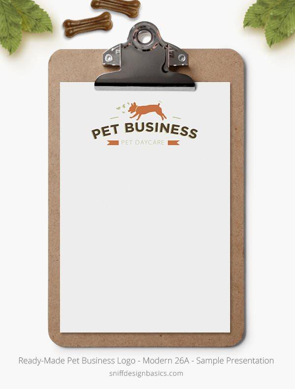 Ready-Made-Pet-Business-Logo-Showcase-Stationery-Letterhead-Modern-26A