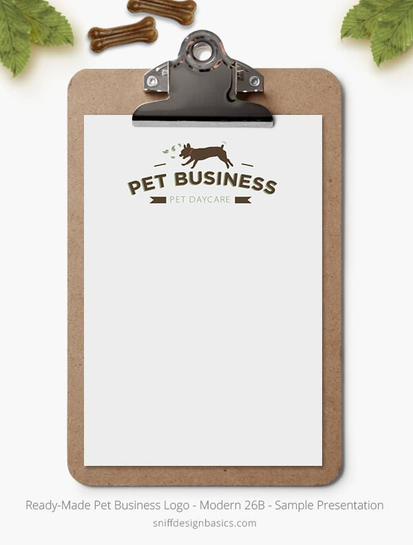 Ready-Made-Pet-Business-Logo-Showcase-Stationery-Letterhead-Modern-26B