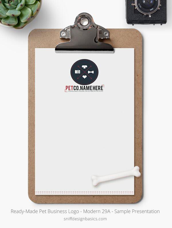 Ready-Made-Pet-Business-Logo-Showcase-Stationery-Letterhead-Modern-29A
