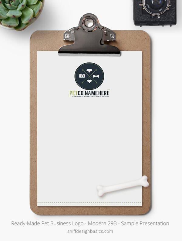 Ready-Made-Pet-Business-Logo-Showcase-Stationery-Letterhead-Modern-29B
