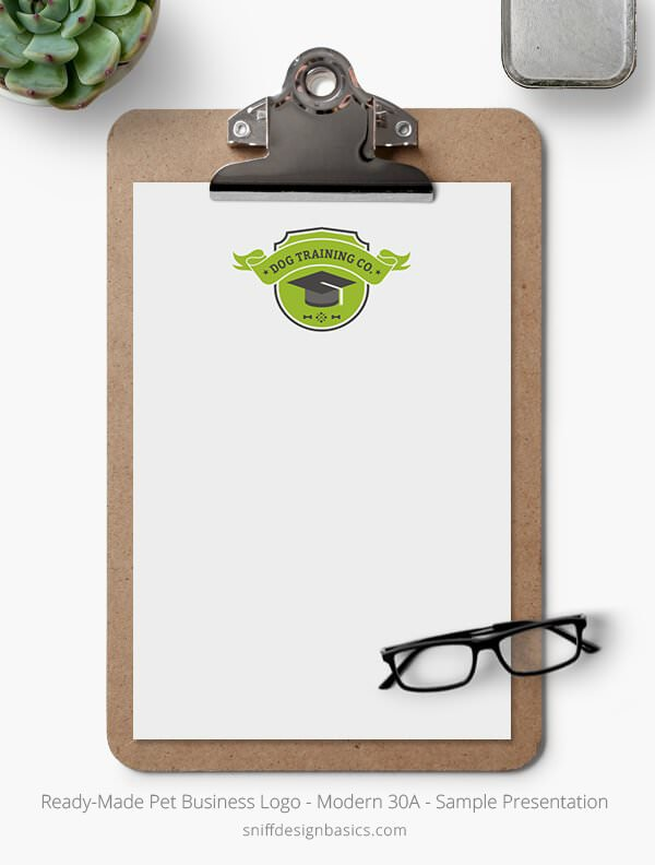 Ready-Made-Pet-Business-Logo-Showcase-Stationery-Letterhead-Modern-30A