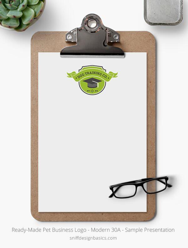 Ready-Made-Pet-Business-Logo-Showcase-Stationery-Letterhead-Modern-30A