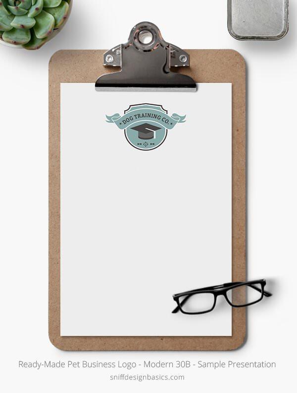 Ready-Made-Pet-Business-Logo-Showcase-Stationery-Letterhead-Modern-30B