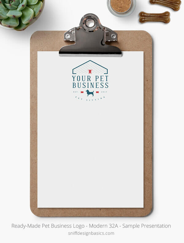 Ready-Made-Pet-Business-Logo-Showcase-Stationery-Letterhead-Modern-32A