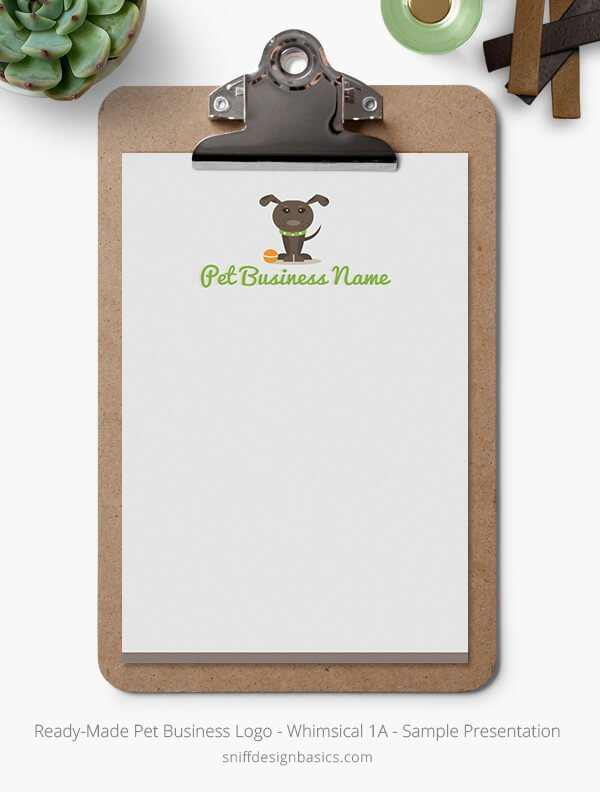 Ready-Made-Pet-Business-Logo-Showcase-Stationery-Letterhead-Whimsical-1A