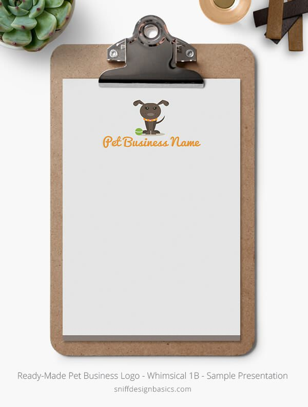 Ready-Made-Pet-Business-Logo-Showcase-Stationery-Letterhead-Whimsical-1B