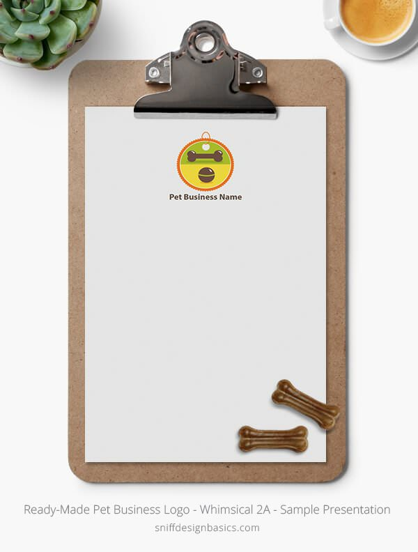 Ready-Made-Pet-Business-Logo-Showcase-Stationery-Letterhead-Whimsical-2A