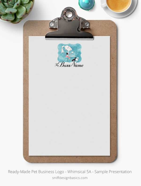 Ready-Made-Pet-Business-Logo-Showcase-Stationery-Letterhead-Whimsical-5A