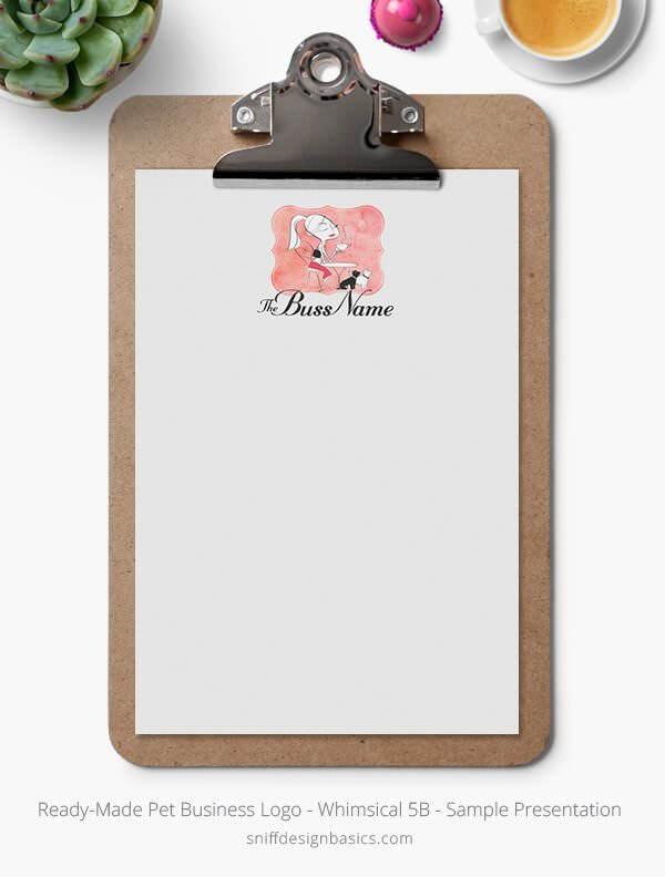 Ready-Made-Pet-Business-Logo-Showcase-Stationery-Letterhead-Whimsical-5B