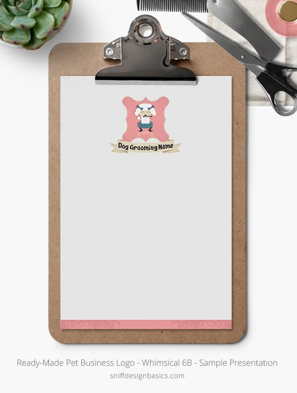 Ready-Made-Pet-Business-Logo-Showcase-Stationery-Letterhead-Whimsical-6B