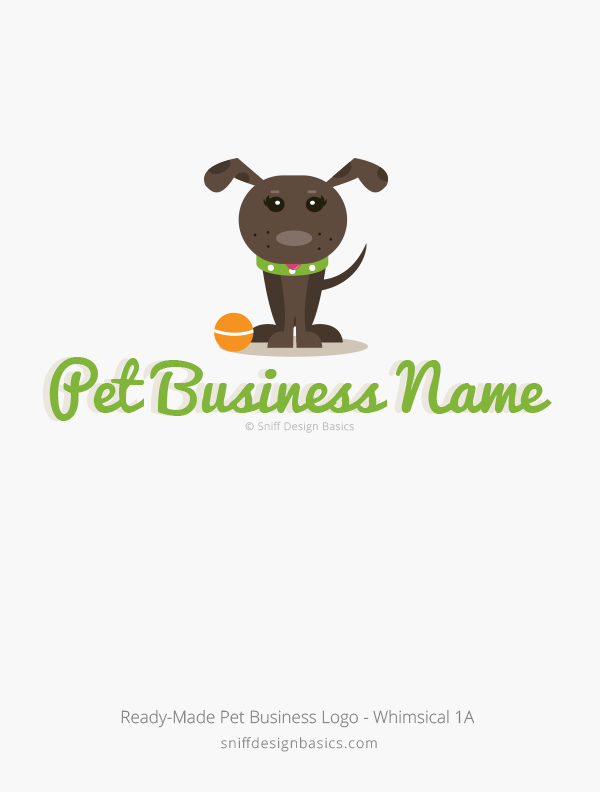 Ready-Made-Pet-Business-Logo-Whimsical-Design-1A