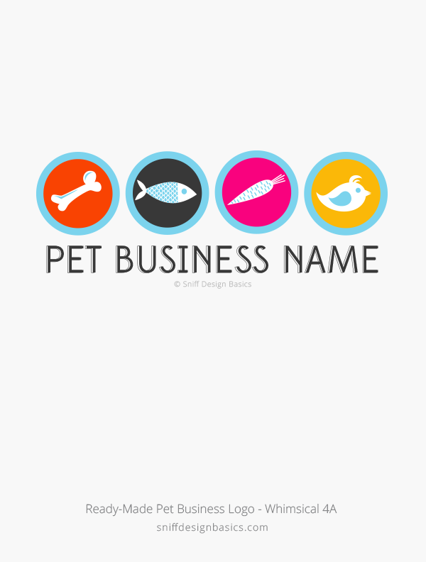 Ready-Made-Pet-Business-Logo-Whimsical-Design-4A