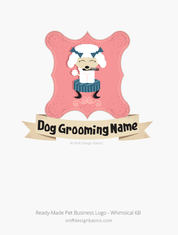 Ready-Made-Pet-Business-Logo-Whimsical-Design-6B