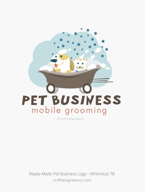 Ready-Made-Pet-Business-Logo-Whimsical-Design-7B