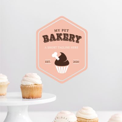 My pet bakery premade pet business branding kit by Sniff Design Basics
